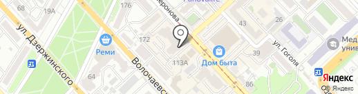 ДЕЛИРИУМ на карте Хабаровска