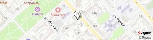 Богема на карте Хабаровска