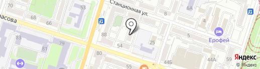 Современные технологии на карте Хабаровска
