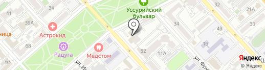 Fit Kombat на карте Хабаровска