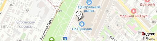 Delfin на карте Хабаровска