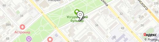 Люкслайн ДВ на карте Хабаровска