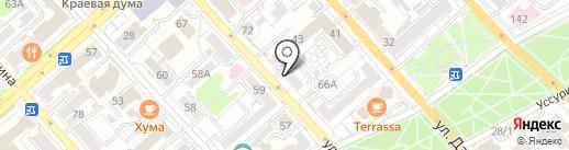 ИТЦ КОМПЬЮТЕР на карте Хабаровска