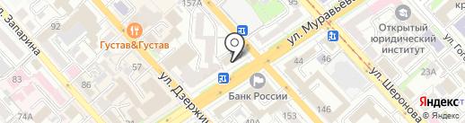 Черная Точка на карте Хабаровска