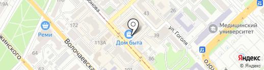 Бутик женской одежды на карте Хабаровска