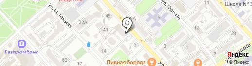 Иннотэк на карте Хабаровска