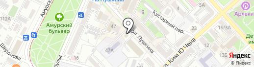 БАЛТБЕТ на карте Хабаровска