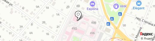 Дорожная клиническая больница на карте Хабаровска