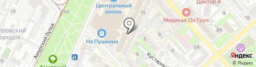 Happy woman на карте Хабаровска