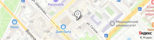 Самото на карте Хабаровска