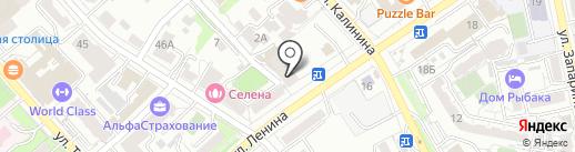 OKKIANA на карте Хабаровска