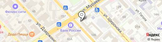 CHIP на карте Хабаровска