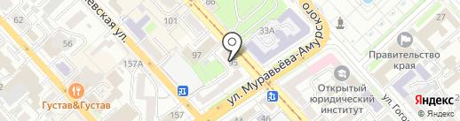 Титан на карте Хабаровска