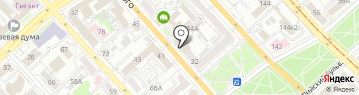 Центр правовой помощи на карте Хабаровска