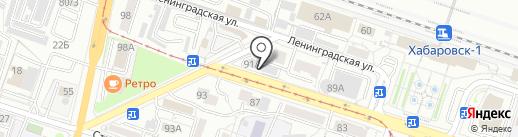 Плов Центр на карте Хабаровска