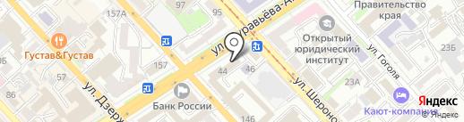 Комфорт на карте Хабаровска