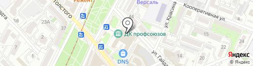 Маки на карте Хабаровска