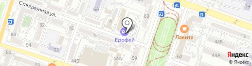 Дальневосточный научно-методический центр охраны труда и безопасности дорожного движения на карте Хабаровска