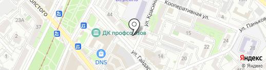 Региональная Научно-Исследовательская Лаборатория Судебной и Независимой Экспертизы, АНО на карте Хабаровска