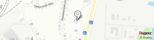 АСК-Тех на карте Хабаровска