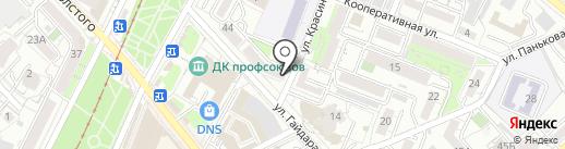 Замочных дел мастер на карте Хабаровска
