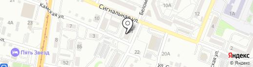 СМС СТРОЙ на карте Хабаровска