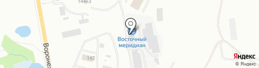 АРГО ДВ на карте Хабаровска