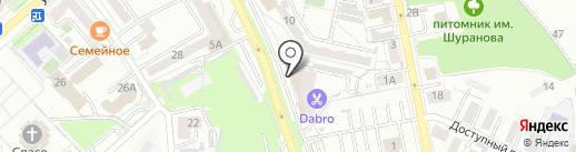ПАУТИНА на карте Хабаровска