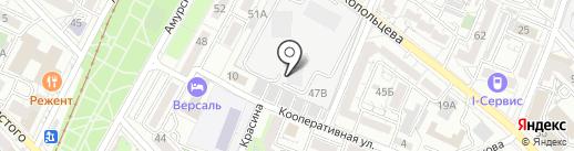 Studio V-12 на карте Хабаровска