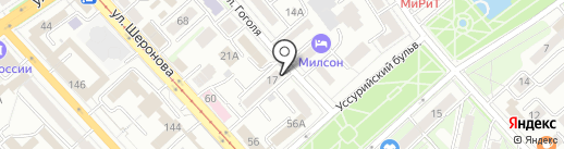 Telepay на карте Хабаровска
