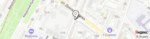 Центр сетевого оборудования на карте Хабаровска