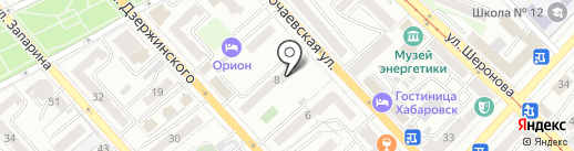 Хорошие квартиры на карте Хабаровска