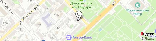 ТУК-ТУК на карте Хабаровска