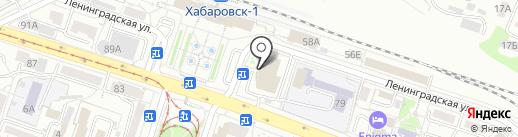 Салон нижнего белья на карте Хабаровска