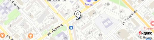 Мастерская по ремонту и изготовлению ювелирных изделий на карте Хабаровска
