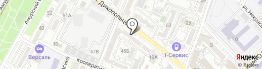 Кухни & интерьеры на карте Хабаровска