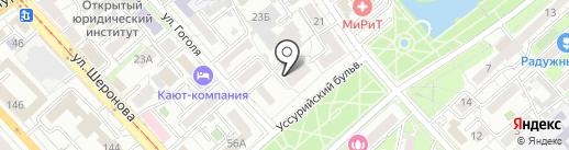 SHABALINA NAILS STUDIO на карте Хабаровска
