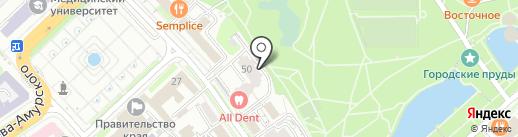 Bomba на карте Хабаровска