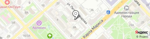 Альфа-Стар Хаб на карте Хабаровска