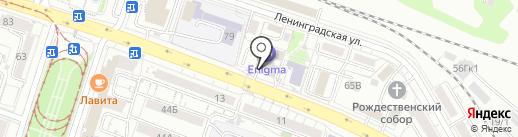 ЕГЭ-студия на карте Хабаровска