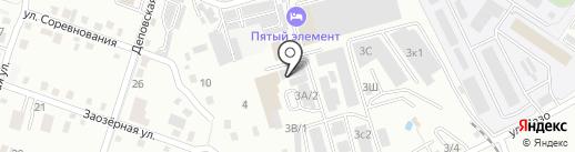 ТэоХим-ДВ на карте Хабаровска