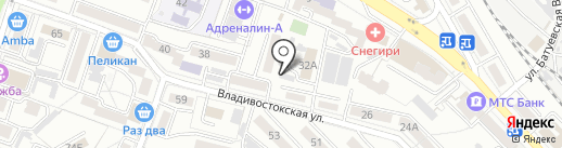 АвтоЭталон-ДВ на карте Хабаровска