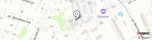 Тайле Рус на карте Хабаровска
