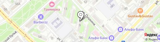 РНЦ-КОВЧЕГ на карте Хабаровска