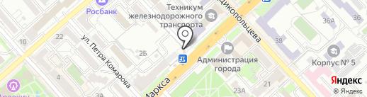 Мосигра на карте Хабаровска