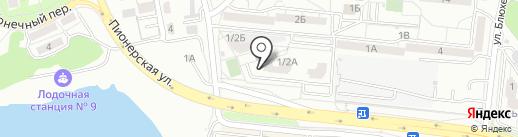 Фонд жилищного строительства на карте Хабаровска