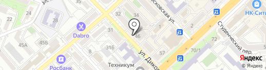 Selfie на карте Хабаровска