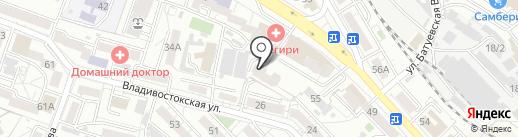 Victoria`s professional на карте Хабаровска