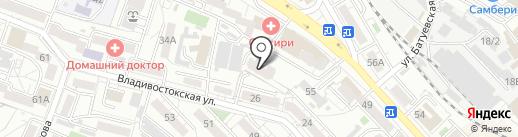 Стандарт ДВ на карте Хабаровска