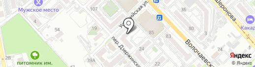 Уссурийское, ТСЖ на карте Хабаровска